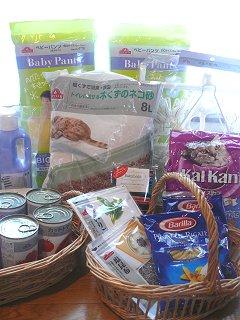 イオンショップで日用品・食品をまとめ買い